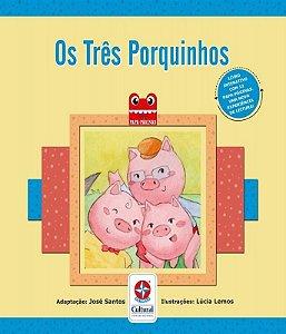 Livro Os Três Porquinhos Estrela Cultural
