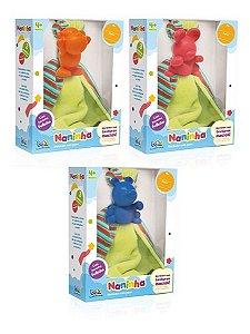 Naninha Brinquedo Mordedor Com Pano 2502 Toyster