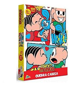 Quebra Cabeça Turma Da Mônica 100 Peças 2241 Toyster