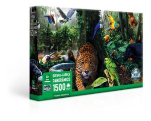 Quebra-Cabeça 1500 Pecas Floresta Amazônica 2693 Toyster