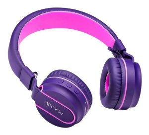 Headphone Pulse Bluetooth Ph217 Rosa/roxo