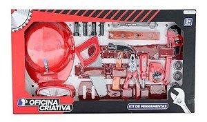 Kit De Ferramentas Infantil 20 Peças BR796 Multikids