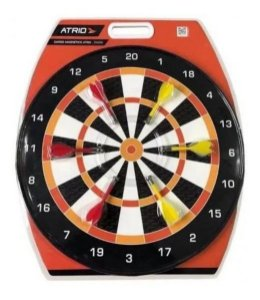 Jogo Dardos Magnético 40,5cm Diâmetro Es285 Átrio