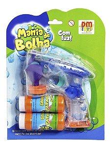 Lancador Mania De Bolha Cristal - Dm Toys Dmt 5345