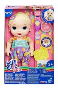 Boneca Baby Alive Lanchinho Divertidos Loira E5841 Hasbro