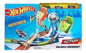 Pista Hot Wheels Equilíbrio Veículos Extremo Frh34 - Mattel