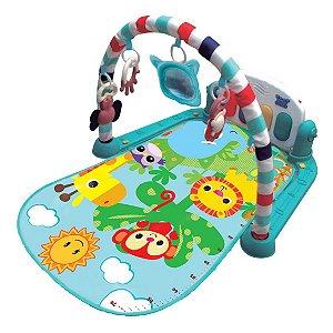 Tapete Atividades Musical Piano Safari Baby Sortido Kitstar