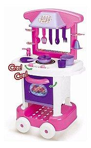 Cozinha Infantil Completa Play Time 2008 Cotiplás
