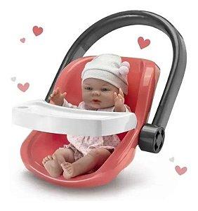 Boneca Babies Dia De Passeio Bebê Conforto 5044 Roma