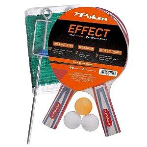 Acessórios Conjunto Tênis De Mesa Effect Poker