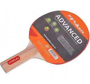 Raquete Para Ping Pong Borracha Lisa Com Espuma 09018 Poker