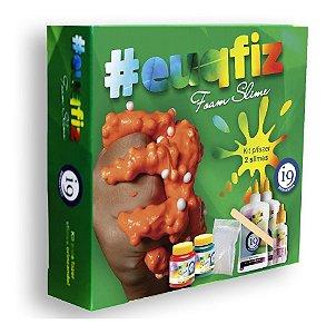 Kit P/ Fazer 2 Slimes Foam Bolinhas De Isopor I9 Brinquedos