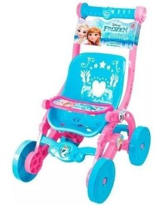 Carrinho Boneca Frozen Disney Reborn 2392 Líder Brinquedos
