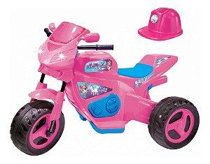 Mini Moto Elétrica Infantil Meg Turbo 6v 1216 Magic Toys