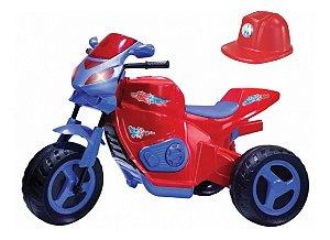 Mini Moto Elétrica Max Turbo 6v Vermelha 1130 Magic Toys