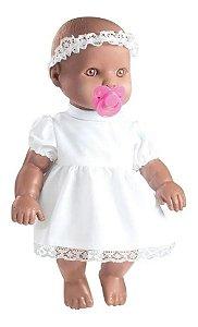 Boneca Negra Minha Primeira Oração 0157 Milk Brinquedos