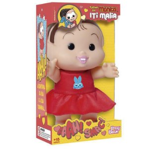 Boneca Monica Iti Malia 1020 Baby Brink