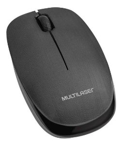Mouse Óptico Sem Fio 1200 Dpi Usb Mo251 Multilaser