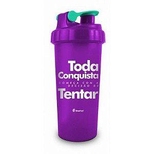 Coqueteleira Frases Toda Conquista 10273 Brasfoot