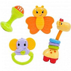Conjunto de Chocalhos Baby Fun 10650 Buba