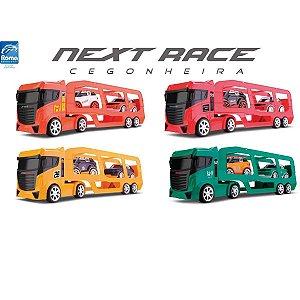 Caminhão SORTIDO Next Race Cegonheira 61CM. Roma
