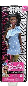 Barbie Fashionistas 146 Morena Tranças Perna Mecanica Mattel
