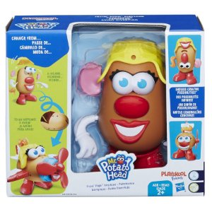 Mrs Potato Head Avião Divertido E-1958 Hasbro