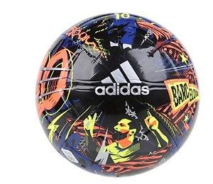 Bola de Futebol Campo Messi Azul Royal e Preto Adidas