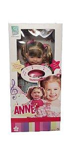 Boneca Anne Cante Comigo C/ Cabelo 42cm 333 Super Toys