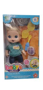 Babys Collection Menino Comidinha 357 Super Toys