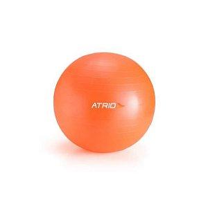 Bola de Ginástica 65cm Material PVC Laranja ES119 Atrio