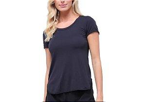 Camiseta Skin Fit Alongada Feminina Alto Giro