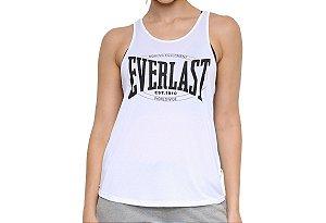 Regata Logo Boxing Feminina Branco Everlast