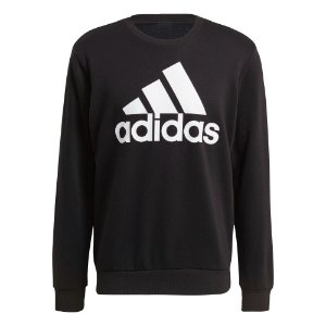 Blusa Moletom S/ Capuz Essentials Big Logo Adidas