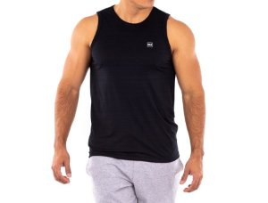 Camiseta Logo Pequeno Workout Regata Maculino Everlast