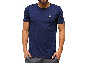Camiseta Mini Logo Masculina Azul Everlast