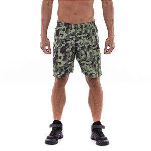 Shorts Workout Camuflado Masculino Everlast