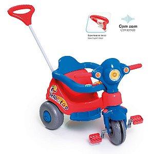 Triciclo Velocita vermelho 0958 Calesita
