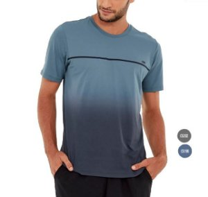 Camiseta Masculina Skin Fit Degrade Alto Giro