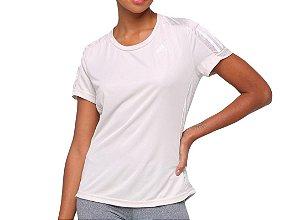 Camiseta Own The Run Feminina Prata Adidas