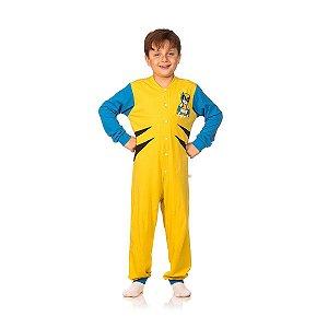 Macacão Longo Infantil Menino Bielverine Cara de Criança