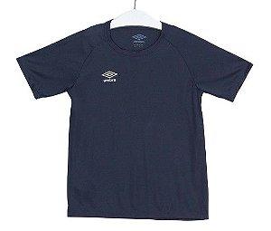 Camiseta TWR Trinity Lisa Azul-Marinho Dark Umbro