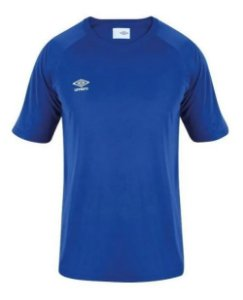 Camiseta Juvenil TWR Trinity Lisa Azul Royal Umbro