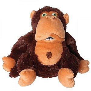 Brinquedo para Cachorro Pelúcia Gorila Sonoro Mimo Pets