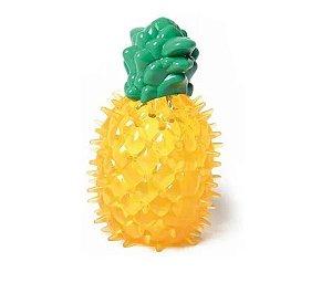Brinquedo Mordedor Frutinhas Abacaxi Para Cachorros