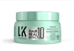 Máscara Lokenzzi Cachos Hair Real 10 Effects 500g