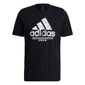 Camiseta Recycled Algodão Logo Graphic Adidas