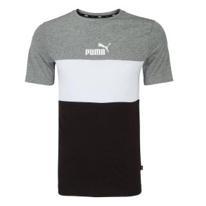 Camiseta Ess+ Colorblock Puma