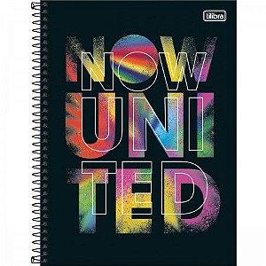 CADERNO UNIV NOW UNITED TILIBRA 80 FLS