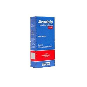 Aradois 100mg da Biolab - 30 Comprimidos
